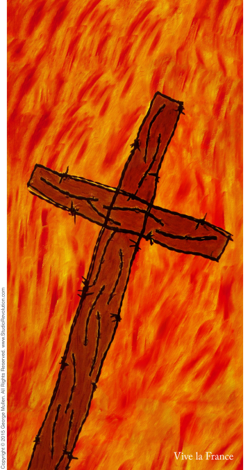 Paris Crucifixion #2