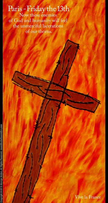 Paris Crucifixion #3