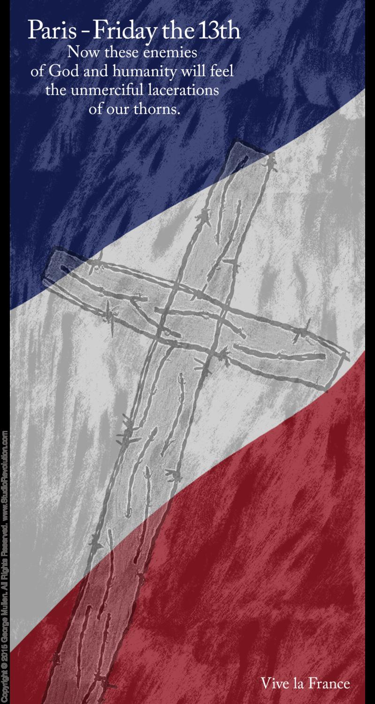 Paris Crucifixion #6