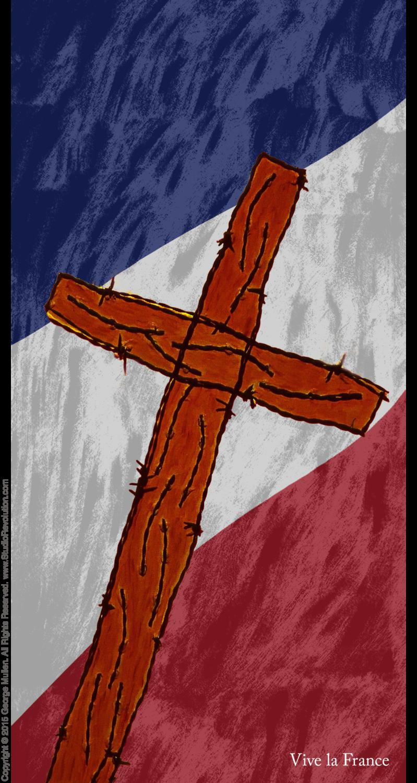 Paris Crucifixion #8