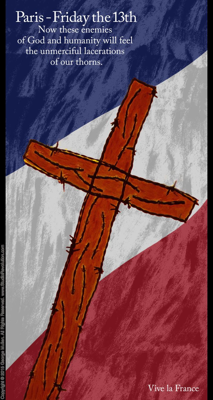 Paris Crucifixion #9