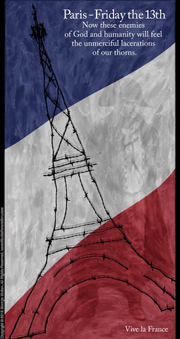 Paris Terror #36 (with Napoleon)