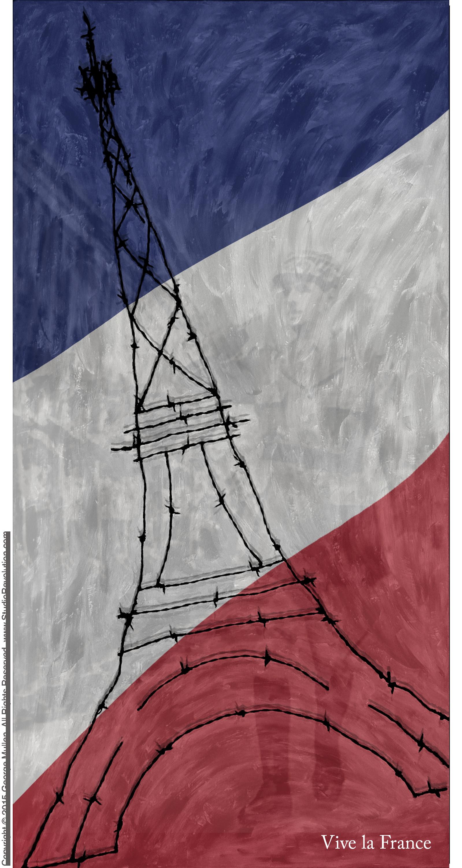 Paris Terror #8 (with DeGaulle)